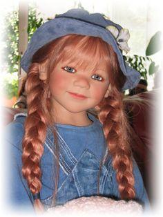 Ida von Himstedt Reborn Dolls, Reborn Babies, Baby Dolls, Dolly World, Annette Himstedt, Vinyl Dolls, Cute Dolls, Beautiful Dolls, Full Body