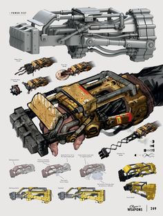 The Art of Fallout 4 - /// Vault 13 — ЖЖ Fallout Art, Fallout Weapons, Fallout Concept Art, Sci Fi Weapons, Armor Concept, Weapon Concept Art, Fantasy Weapons, Fallout Power Armor, Anime Weapons