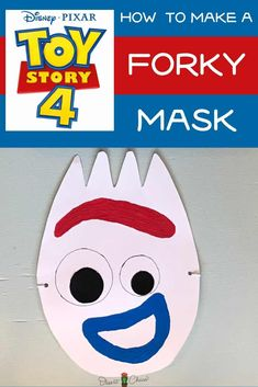 Forky is a craft made from a spork that becomes Bonnie's favorite toy. Forky the Toy Story 4 Spork i Toy Story Movie, Toy Story Party, Toy Story Birthday, Book Character Costumes, Toy Story Costumes, Crafts To Make, Fun Crafts, Crafts For Kids, Disney Diy
