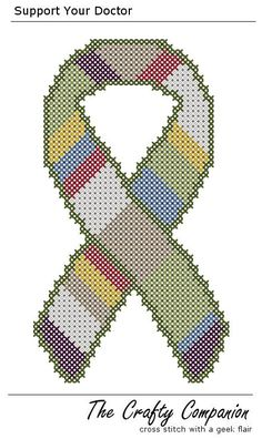 Support Your Doctor - Doctor Who Inspired PDF Cross Stitch Pattern - INSTANT DOWNLOAD