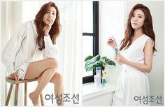 배우 정시아, 내추럴 청순미 듬뿍 담은 화보 공개 '시선 집중'