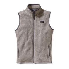 Love the vest look but prefer it not to be too bulky so I think I'd get an XS. [Patagonia Womens Better Sweater™ Fleece Vest- in Natural w/ Feather Grey]