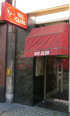George Melly performed his last show here at London's 100 Club.