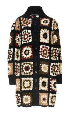 Modern granny square cardigan by BlueNESsy on Etsy
