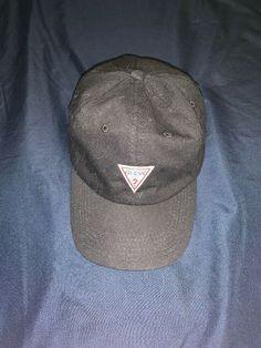fc30c4ba10c Black guess hat  fashion  clothing  shoes  accessories  mensaccessories   hats (
