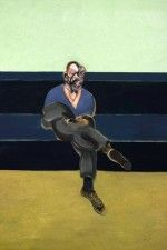 Francis Bacon, Study for a Portrait of P.L. (1962), via Wall Street Journal