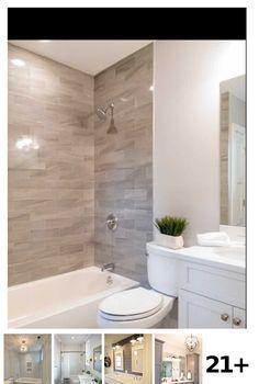 21 Bathroom Remodel With Tub Ideas Baby Bathroom, Guest Bathrooms, Budget Bathroom, Small Bathroom, Shower Tiles, Tub Shower Combo, Shower Tub, Mini Bathtub, Southern Living Homes