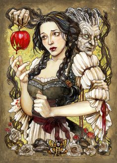 Snow White, the Gift by BohemianWeasel.deviantart.com on @deviantART