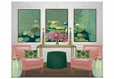 Check out this moodboard created on @olioboard: water lily by ajacobs