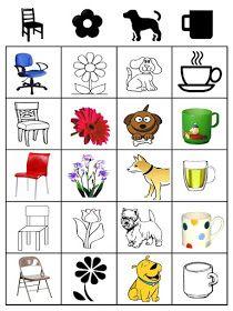 Class Activities, Classroom Activities, Toddler Activities, Printable Preschool Worksheets, Kindergarten Class, Montessori Baby, Maquillage Halloween, Learning Games, Matching Games