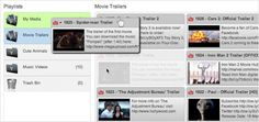 Outil pour présenter facilement des vidéos issues de plateformes différentes. La curation facile pour les vidéos.