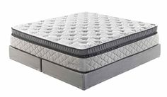 Mount Whitney Box Top White Traditional Classics Queen Mattress