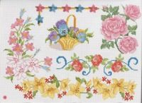 Gallery.ru / Фото #86 - знайдене - 417lilu Blackwork, Cross Stitching, Needlework, Kids Rugs, Embroidery, Tableware, Floral, Crossstitch, Gallery