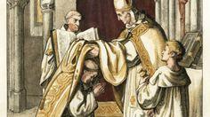 Martin Luther wird im Jahr 1507 feierlich zum Priester geweiht.