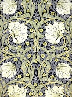 Flowerbed for the Miller's Daughter (Search results for: William Morris) William Morris Wallpaper, William Morris Art, Morris Wallpapers, Flores Art Nouveau, Art Nouveau Flowers, Flowers Illustration, Art Nouveau Illustration, Motif Art Deco, Art Nouveau Design