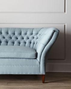 Old Hickory Tufted Curve sofa