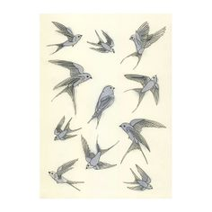 'A Day in the Life of the Blue Bird of Happiness' by Samantha Battersby, @ 'matouenpeluche' on Etsy
