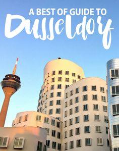 Planning to travel to Germany? Here is a best of Düsseldorf guide with recommendations of things to do, places to eat, drink, and more | http://www.rtwgirl.com/dusseldorf
