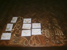 The jewellery made by the residents of Adaikalam at the recent jewellery workshop. At The Banyan, Chennai.