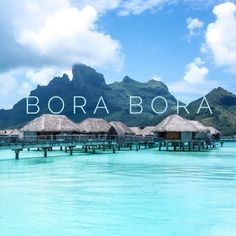 Image via We Heart It https://weheartit.com/entry/149965811 #amazing #beach #beautiful #blue #borabora #Dream #exotic #holiday #house #incredible #Island #like #loveit #lovely #luxury #magical #mountains #ocean #perfect #photography #sea #sky #summer #sun #travel #tumblr #view #water #world #borabora