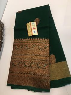 Buy latest green kora sarees with blouse online with price at siri designers 8897195985 Kora Silk Sarees, Silk Saree Kanchipuram, Raw Silk Saree, Organza Saree, Banaras Sarees, Wedding Saree Blouse Designs, Saree Blouse Neck Designs, Indian Bridal Sarees, Indian Silk Sarees