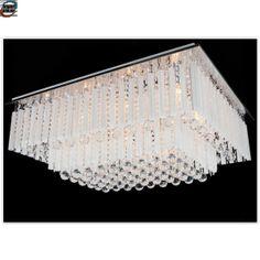 Moderne Krystall taklampe 95 x 75 x 36 cm - 9 lys (CCDRX0918-950GRAC) Chandelier, Ceiling Lights, Lighting, Home Decor, Modern, Candelabra, Decoration Home, Room Decor, Chandeliers