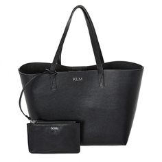 Monogram your Grainy Leather Shopper Bag at Mon Purse. Discover the latest personalised leather Shopper Bags online at Mon Purse.