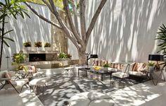 Brody House, a Modernist Residence by Archibald Quincy Jones muebles de fierro para terraza