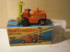 Matchbox no 15 fork lift truck -1972