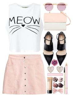 Meow by atarituesday on Polyvore featuring Miss Selfridge, Eddie, New Look, Gucci, Sheriff&Cherry, AERIN, Chanel and Bobbi Brown Cosmetics