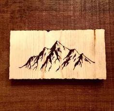 Resultado de imagem para wood burned tree initials in trunk coasters