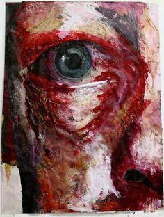 AS Art Exam : Jenny Saville Artist Analysis.
