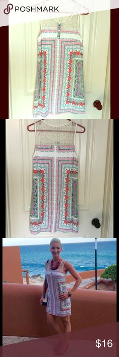 Entro Dress One of my favorites! 100% rayon. entro Dresses Mini
