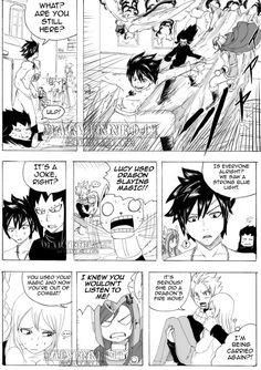 It's okay Luce. Natsu Fairy Tail, Fairy Tale Anime, Fairy Tail Love, Fairy Tail Manga, Fairy Tail Ships, Fairy Tales, Nalu Comics, Fairy Tail Comics, Anime Stories