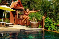 One of my favourite photos of me in Thailand from... Travelettes » Ten reasons why you should travel like a child