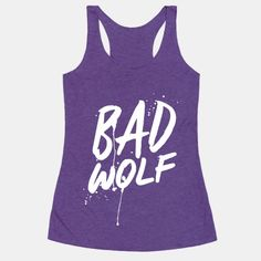 See the signs all around you. BAD WOLF! Call the doctor and get in the Tardis because trouble is about to start. Be the companion you always wanted to be. Or maybe don't remember until you see this... | Beautiful Designs on Graphic Tees, Tanks and Long Sleeve Shirts with New Items Every Day. Satisfaction Guaranteed. Easy Returns.