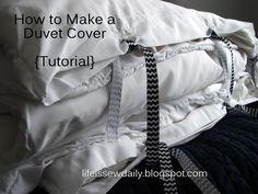 Diy Duvet Covers: Diy Easy Duvet Cover
