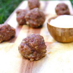 Maple Pecan Sausage Balls – Predominantly Paleo maple pecan sausage, sausag ball, mapl pecan, paleo sausage