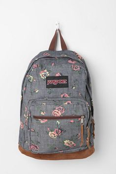 Flaunt during the day' Jansport Denim Backpack #UrbanOutfitters ...