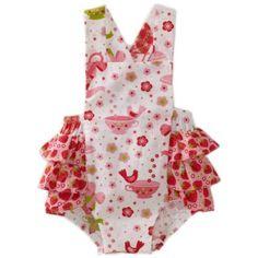 Jelly The Pug Baby-Girls Infant Cake Ruffle Romper $34.00