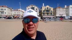 Desdel la playa Nazaré Portugal