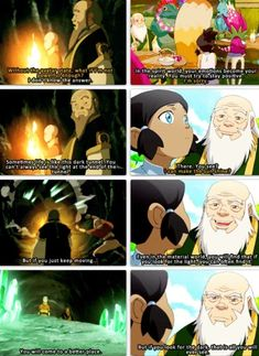 The Legend of Korra/ Avatar the Last Airbender: Iroh's great words of wisdom.