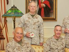 Meet the 3 Marine generals who are a 'force to be reckoned with' in the Trump White House