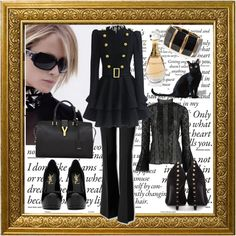 I Know What I Want by snowbride on Polyvore featuring Oscar de la Renta, Theory, Alexander McQueen and Yves Saint Laurent