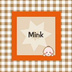 www.jillejille.nl meisje/jongen Geboortekaartje Mink