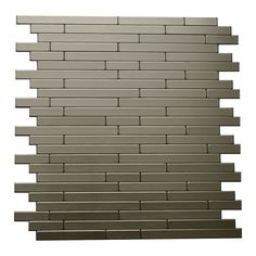 Linox Self Adhesive Mosaic Metal Tile