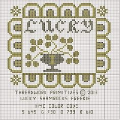 Threadwork Primitives   Freebie Patterns   (Click to enlarge, then right click on the   picture, click View Image    and from there you...