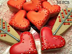 Valentine Hearts and Arrows ♥ by Jill FCS