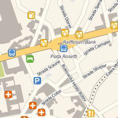 Căutare pe hartă: Apartamente de închiriat în Bucuresti