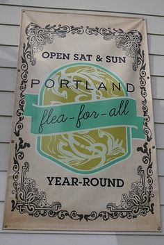 Portland Flea-for-All (Portland, ME) | 35 Indie Craft Fairs Every Creative Person Needs To Visit